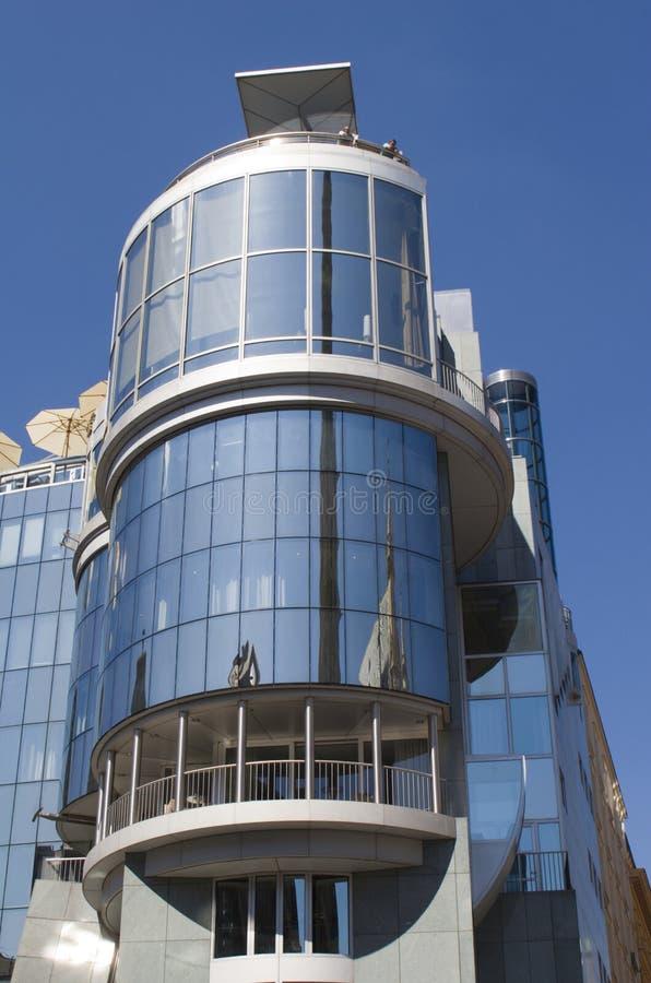 De moderne bouw in wenen centrum stock afbeelding for Moderne bouw