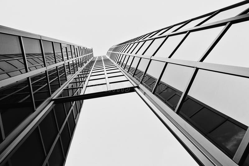 De moderne bouw in Zagreb, Kroatië stock foto's