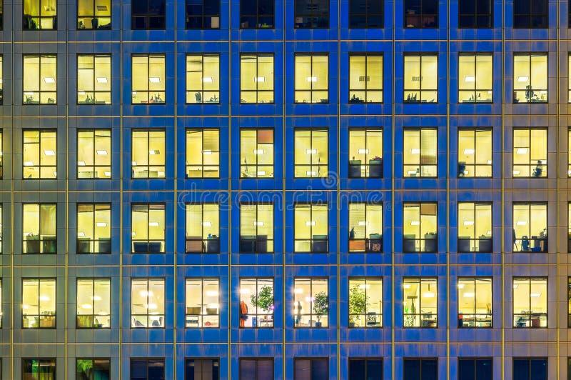 De moderne bureaubouw stock foto's