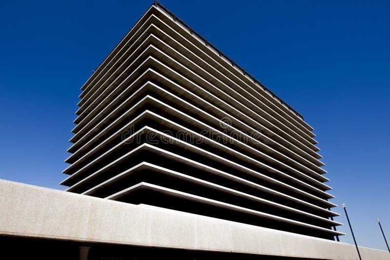 De moderne bureaubouw in Los Angeles stock foto's