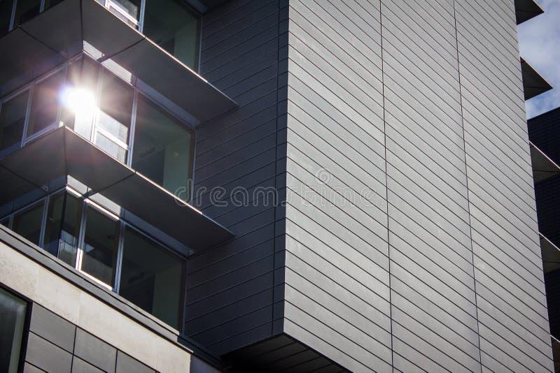 De moderne Bureaubouw, Manchester het UK stock afbeeldingen