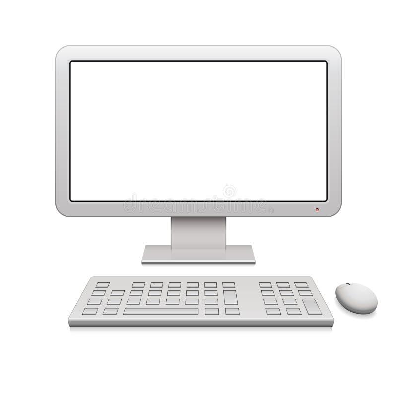 De moderne Bureaucomputer van