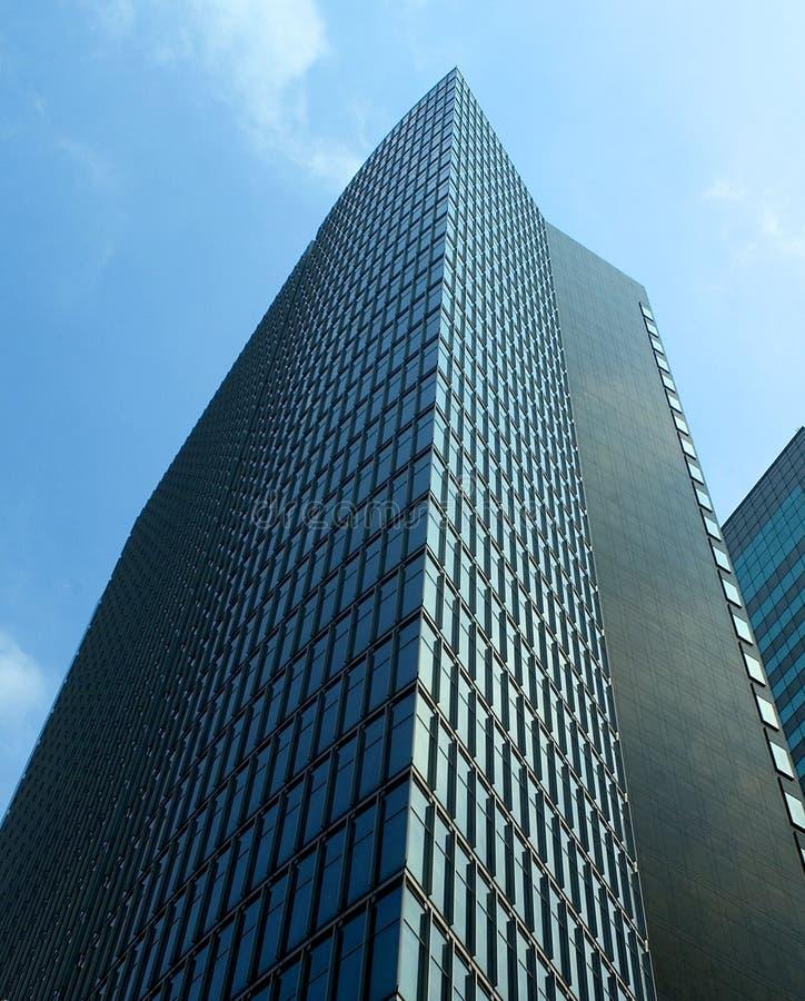 De moderne commerciële bouw stock foto