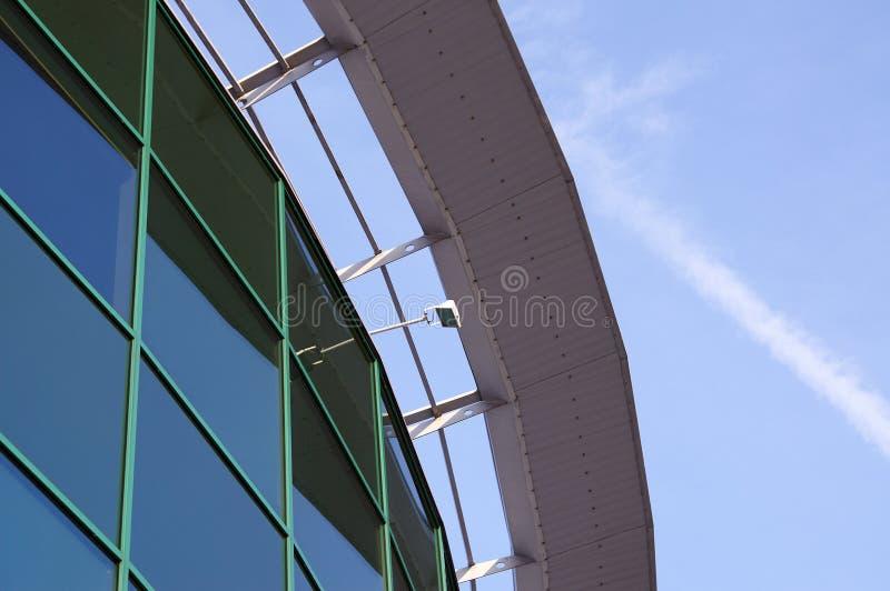 De moderne Corporatieve bouw stock foto