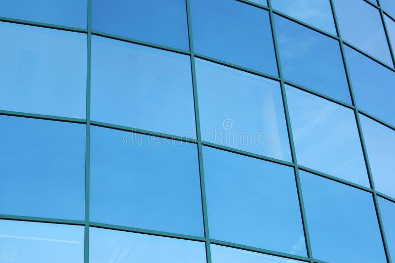 De moderne Corporatieve bouw stock foto's