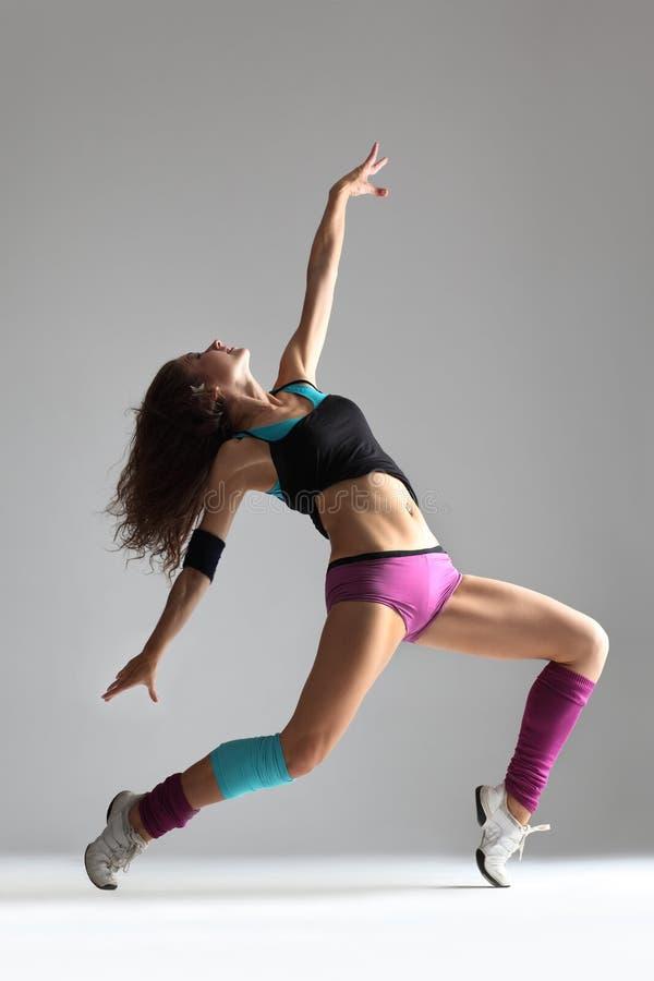 De moderne danser stock foto