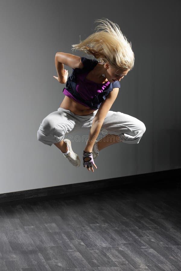 De moderne danser royalty-vrije stock foto