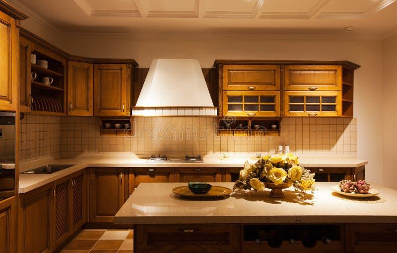 keuken 17 stock afbeelding