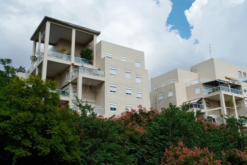 De moderne flat van ontwerp luxueuze flats royalty-vrije stock afbeeldingen