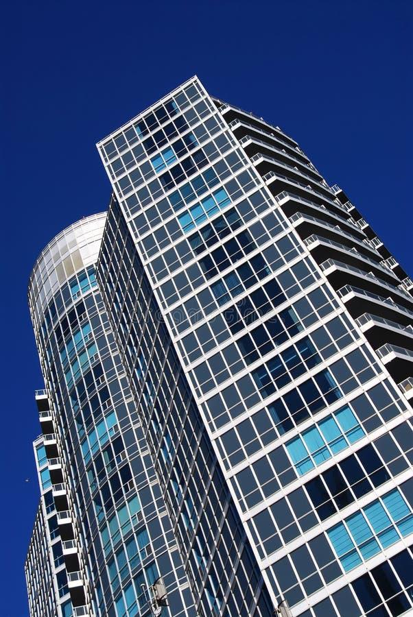 De moderne flatbouw stock afbeelding