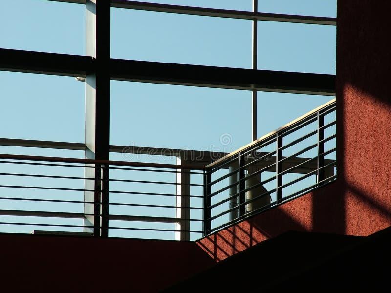 De moderne glasbouw stock fotografie