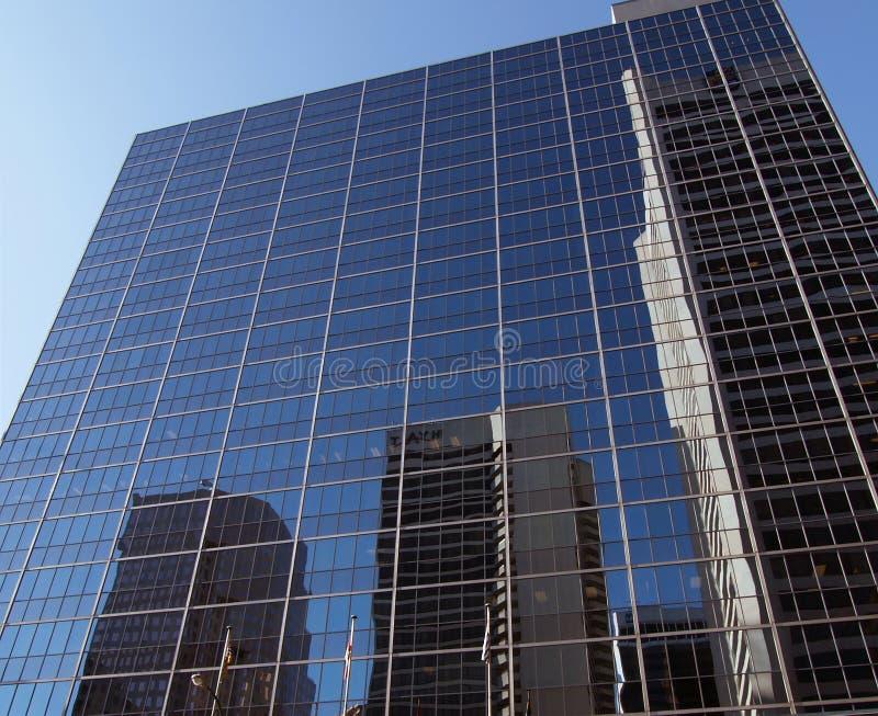 De moderne glasbouw royalty-vrije stock afbeelding