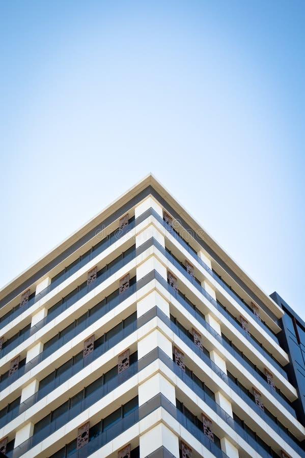 De moderne glasbouw in het stadscentrum royalty-vrije stock afbeeldingen