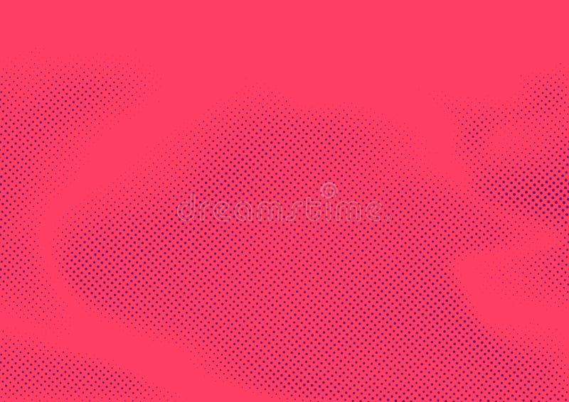 De moderne grappige abstracte pagina van de boek uitstekende stijl gestippelde korrel templ vector illustratie