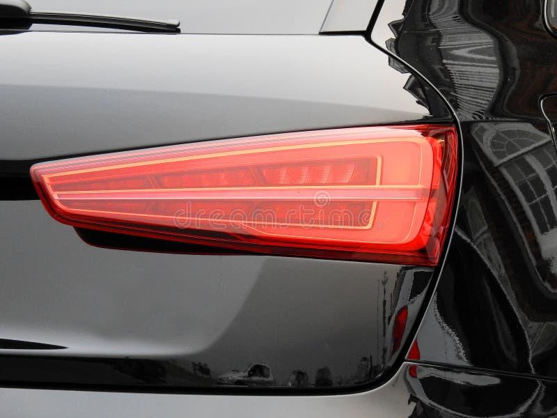 De moderne inrichting van de auto lichte cluster royalty-vrije stock afbeelding