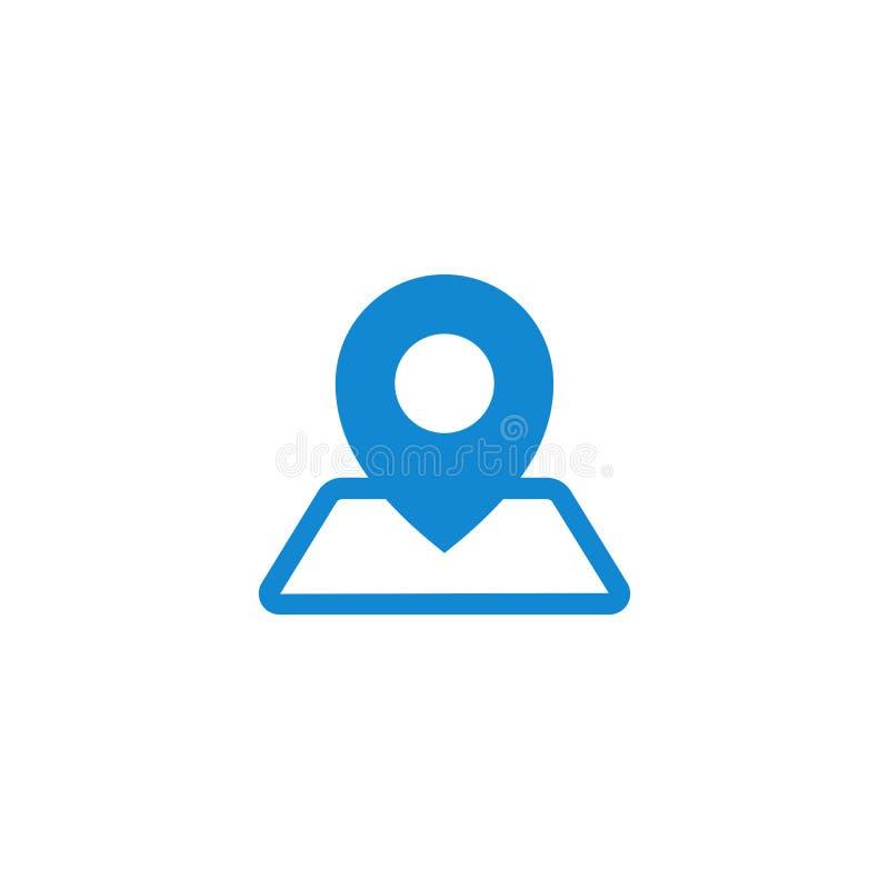 De moderne mededeling contacteert ons pictogram stock illustratie