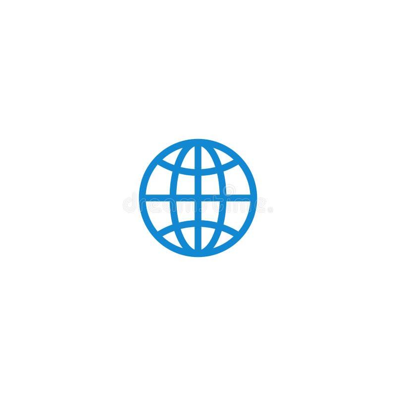 De moderne mededeling contacteert ons pictogram royalty-vrije illustratie