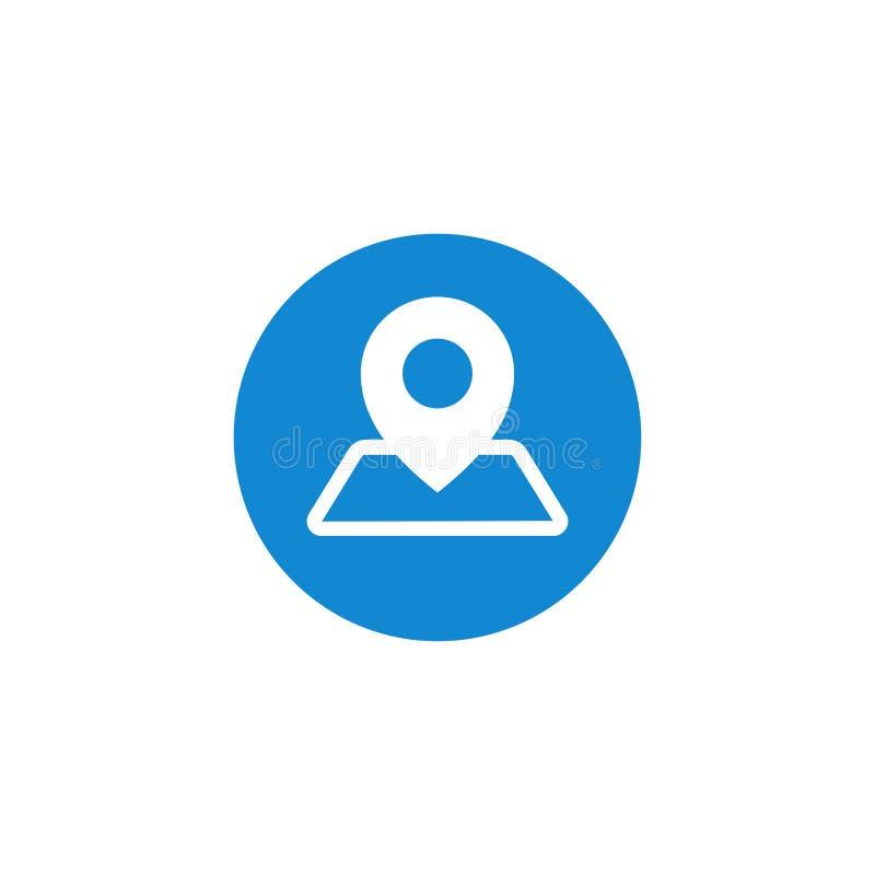 De moderne mededeling contacteert ons pictogram vector illustratie