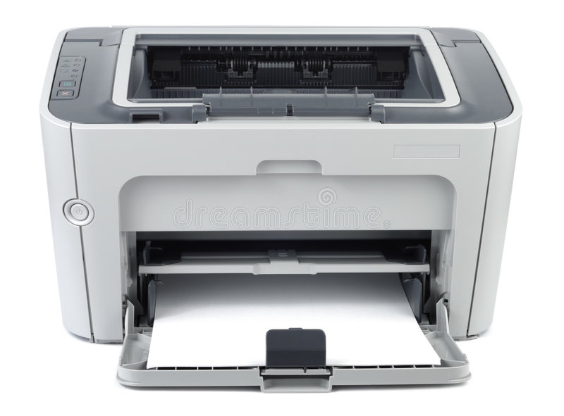 De moderne Printer van het Bureau stock afbeeldingen