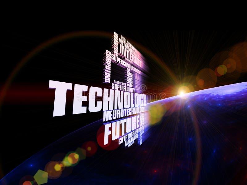 De moderne Samenvatting van de Technologie stock illustratie