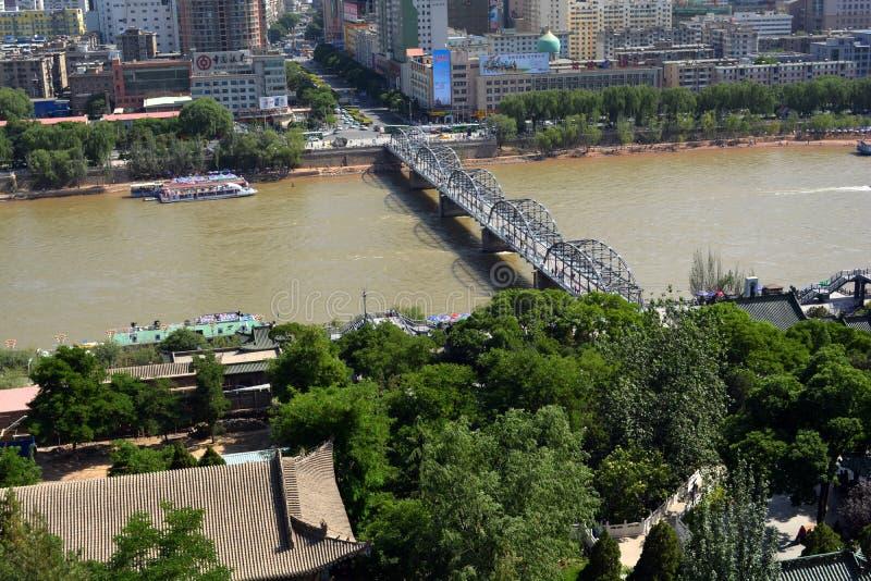 De moderne stad van China ` s stock afbeeldingen