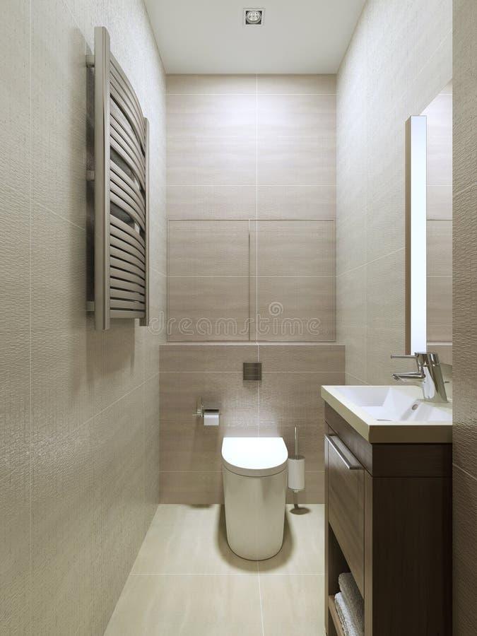 Moderne Wc de moderne stijl wc stock afbeelding afbeelding bestaande uit