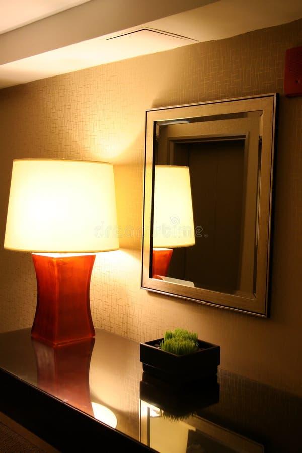 De moderne Zaal van het Hotel royalty-vrije stock fotografie