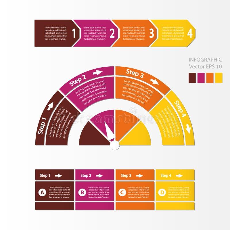 De module van de procesgrafiek stock illustratie