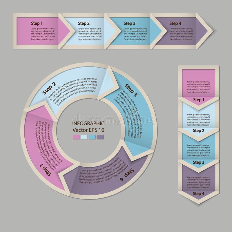 De module van de procesgrafiek royalty-vrije illustratie