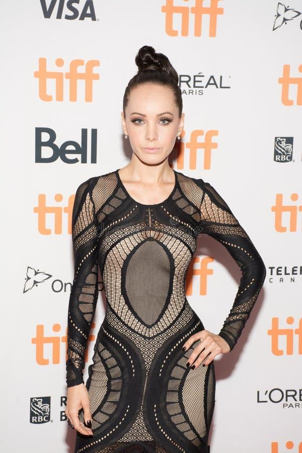 De Moeder` Première van actriceksenia solo ` bij Internationaal de Filmfestival van Toronto royalty-vrije stock fotografie