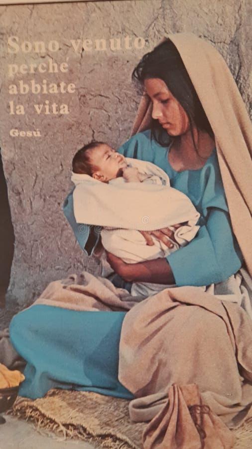 De moeder van Mary van Jesus stock foto