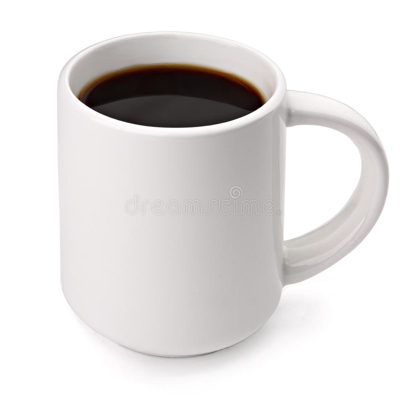 De mok van de koffie stock fotografie