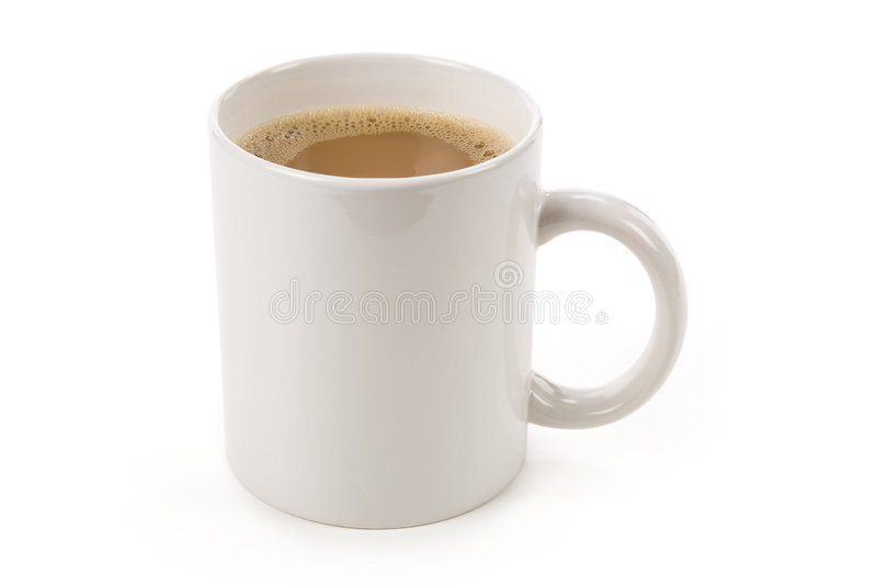 De Mok van de koffie stock foto