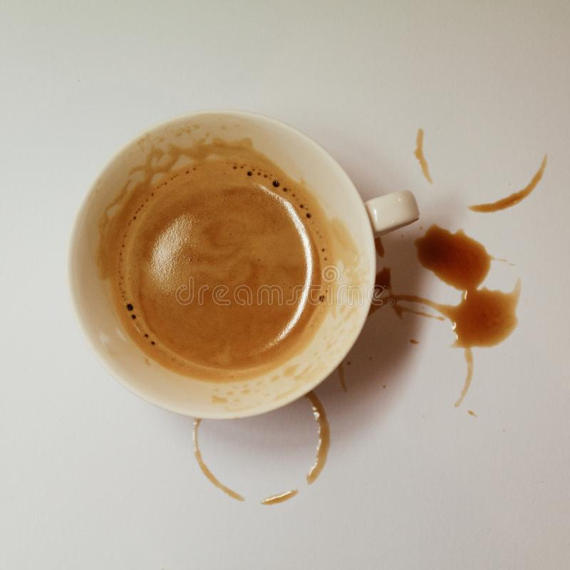 De mok van de maandagkoffie stock afbeeldingen