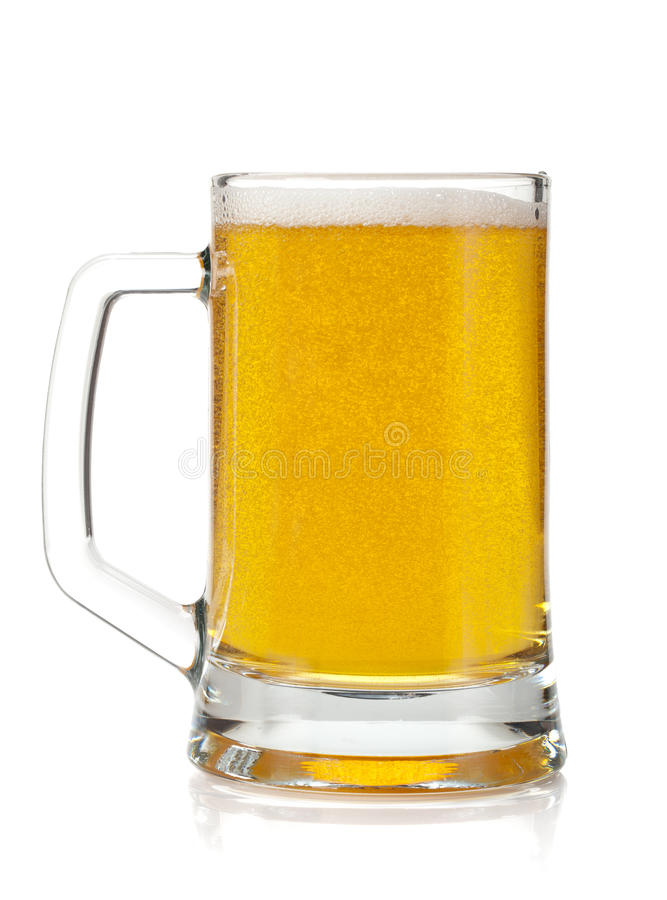 De mok van het bier royalty-vrije stock afbeeldingen