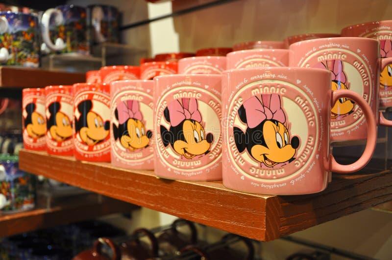 De Mok van Mickey en van de Muis Minnie in de Opslag van Disney royalty-vrije stock fotografie