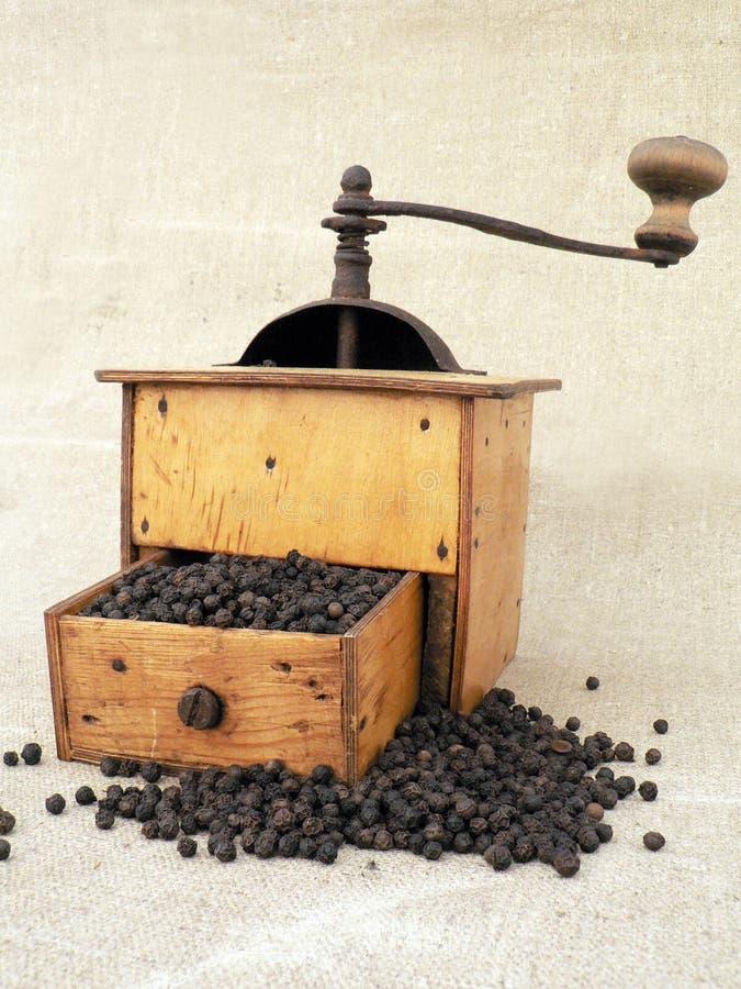 De molen van de peper stock foto