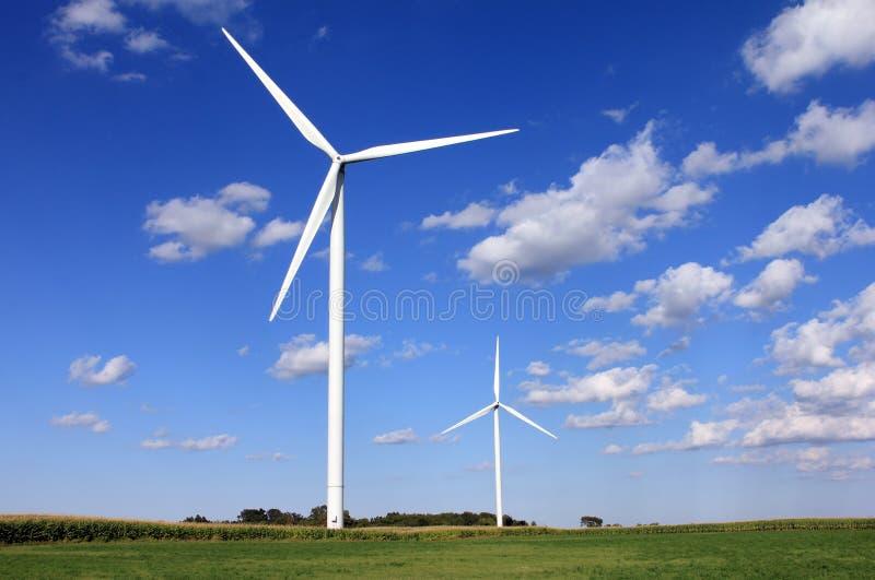 De Molen van de wind stock fotografie