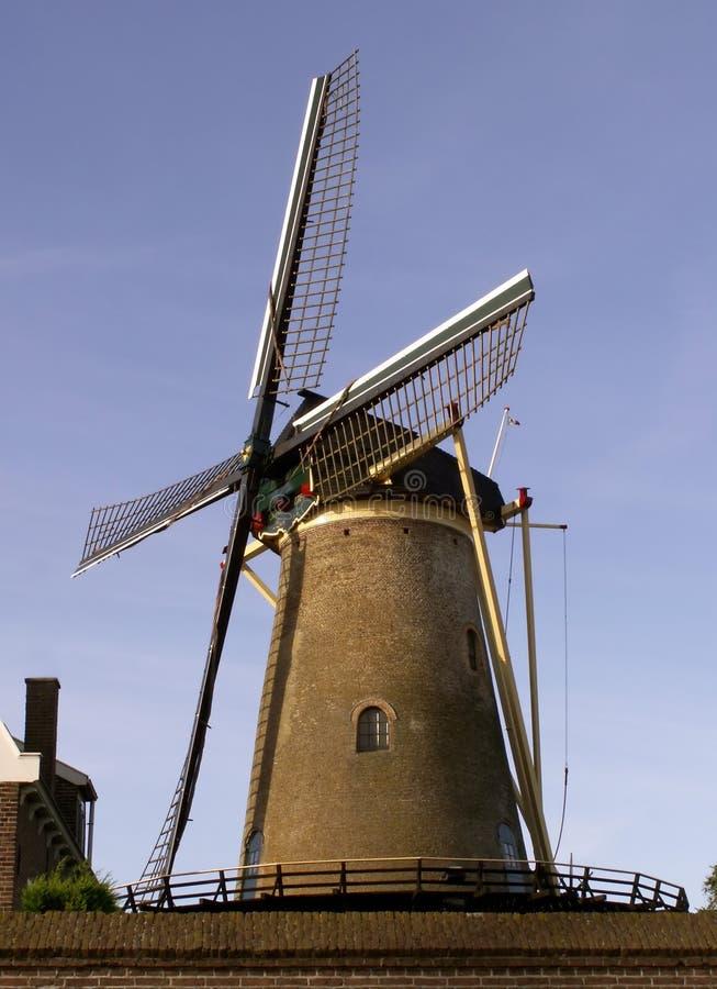 De molen van de wind royalty-vrije stock foto