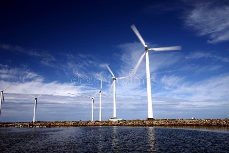 De molen van de wind royalty-vrije stock foto's