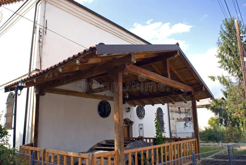 De Molen van Haxhizeka, Pec, Kosovo stock afbeeldingen