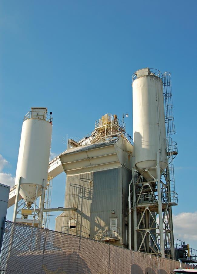 De molen van het cement royalty-vrije stock afbeelding