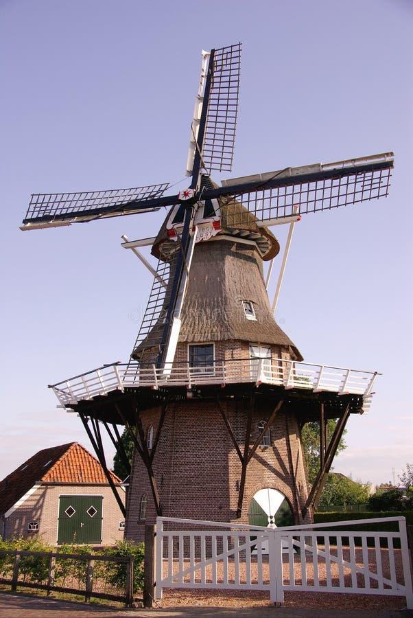 De molen van het graan stock foto's