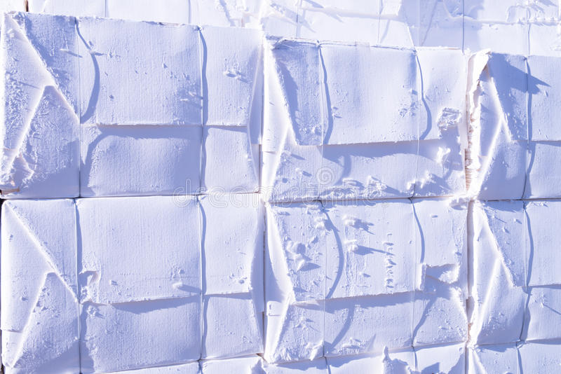 De molen van het papier en van de pulp - Cellulose royalty-vrije stock afbeeldingen