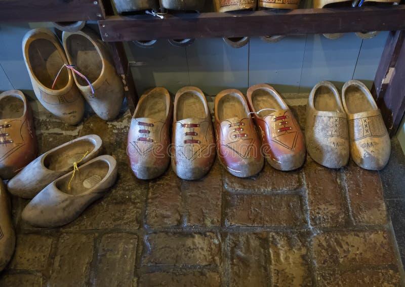 De Molen van het Schermerhornmuseum, Stompetoren, Nederland stock afbeelding