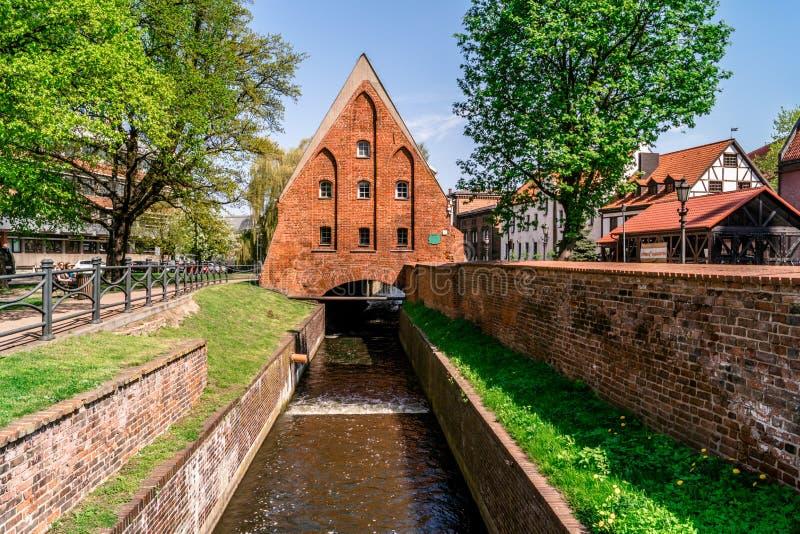De Molen van Wielki Mlyn in Gdansk royalty-vrije stock afbeeldingen