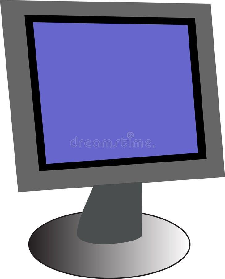 De monitor van PC vector illustratie