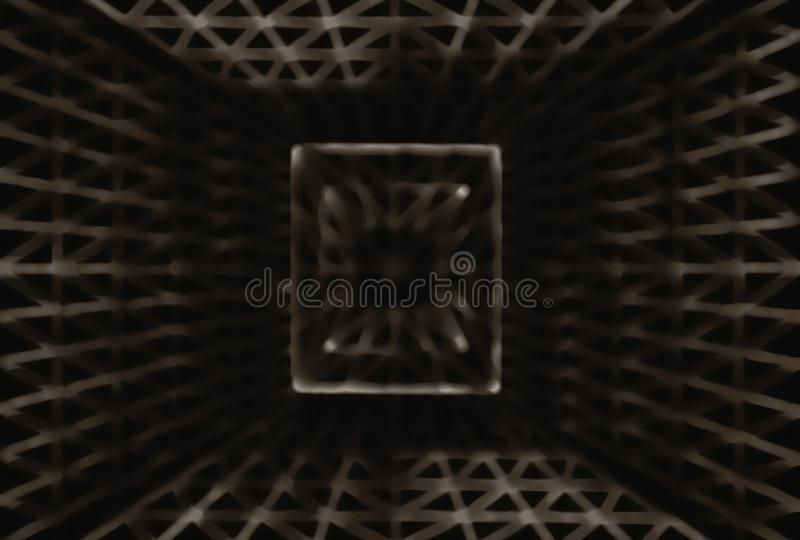 De monochromatische abstracte textuur van de bokehbekleding royalty-vrije stock afbeelding