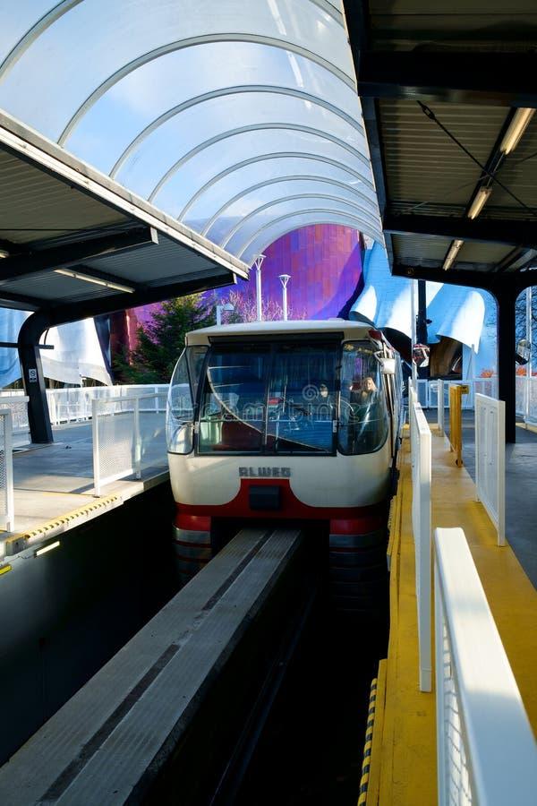 De Monorail van Seattle royalty-vrije stock fotografie