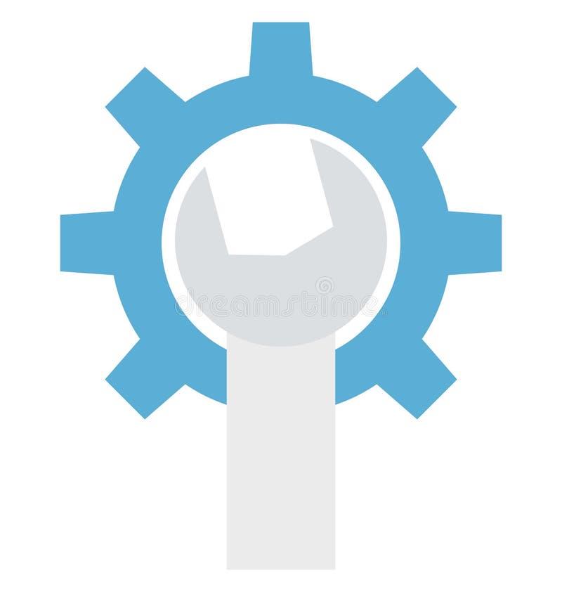 De montages, optimalisering, isoleerden Vectorpictogrammen die gemakkelijk kunnen worden gewijzigd of uitgeven stock illustratie